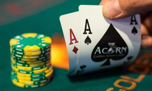 Playing Poker Online Game