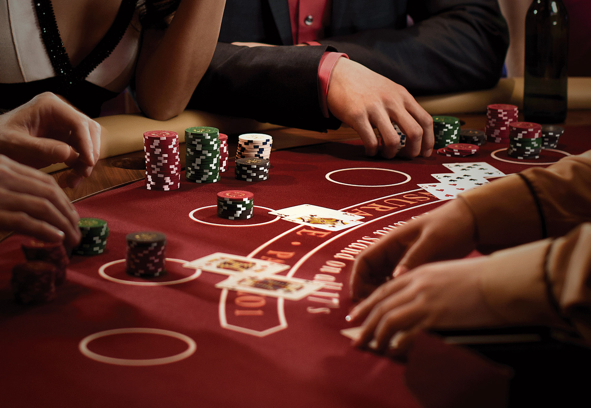 Playing games in online casinos